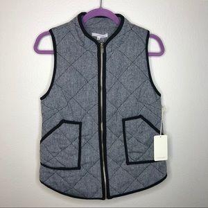 NWT | 41 Hawthorn Shara Herringbone Vest